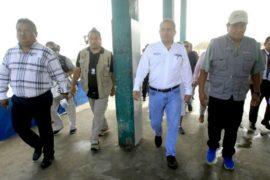 ministro Cordova en Las Conchitas