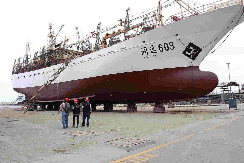 barco chino