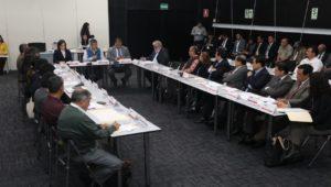 ministro Raul y los 5 grupos tecnicos