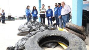 recojo de residuos del Mar