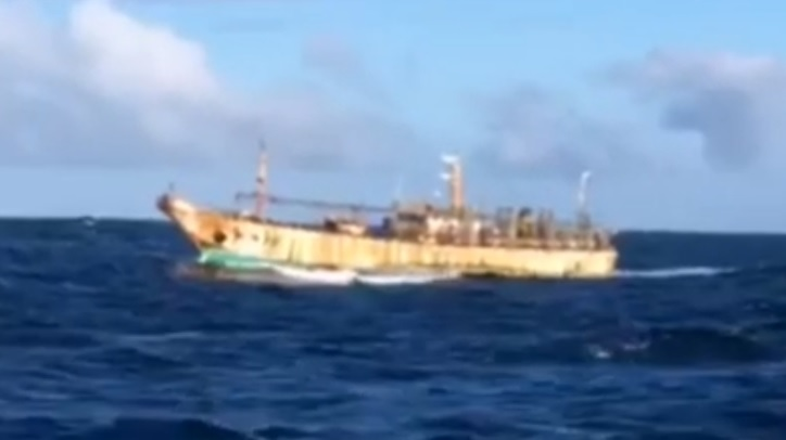 barco chino en chile