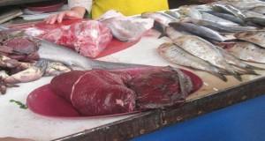 Incautan carne de Delfín en mercado Miramar de Chimbote