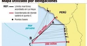 Senado de Chile rechaza el nuevo mapa de límites del Perú