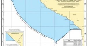 El Gobierno peruano presentó mapa del límite marítimo