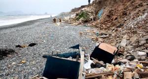 LIMA: Playas del Callao son usadas como relleno sanitario