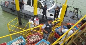 PRODUCE interviene embarcaciones por realizar faenas ilegales en 5 millas