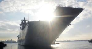 Nuevo buque de guerra de Australia listo para su entrega