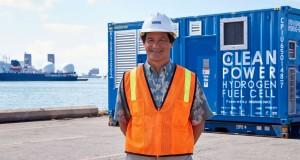 Pila de combustible genera energía para puerto Honolulu