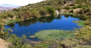 En Huamantanga rescatan técnica milenaria para la cosecha de agua