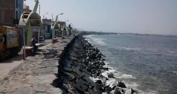 Cierran puerto de Chimbote y advierten fuertes oleajes en las próximas horas