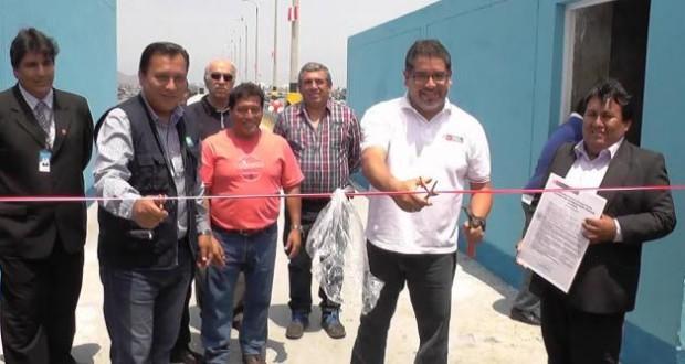 Viceministro de Pesquería inauguró Desembarcadero Artesanal de Chimbote