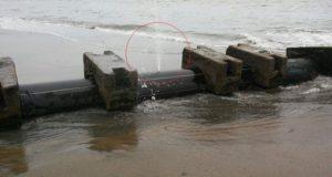 "Emisor submarino APROFERROL convertido en ilegal ""servis"""