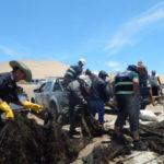 ICA – Decomisan redes de pesca ilegal en Reserva Nacional de Paracas